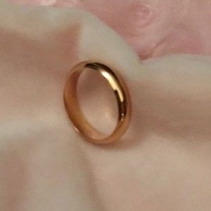 Sterling Silver - Brand New - Gold Plated ring